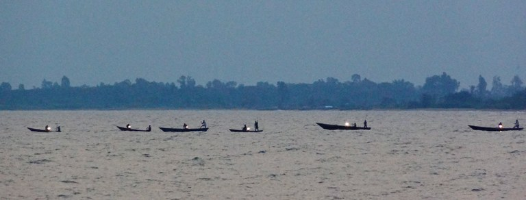 Fishermen competition on the Lake Tanganyika Day